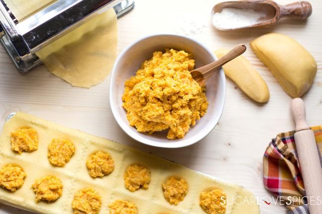 Roasted Pumpkin Ravioli