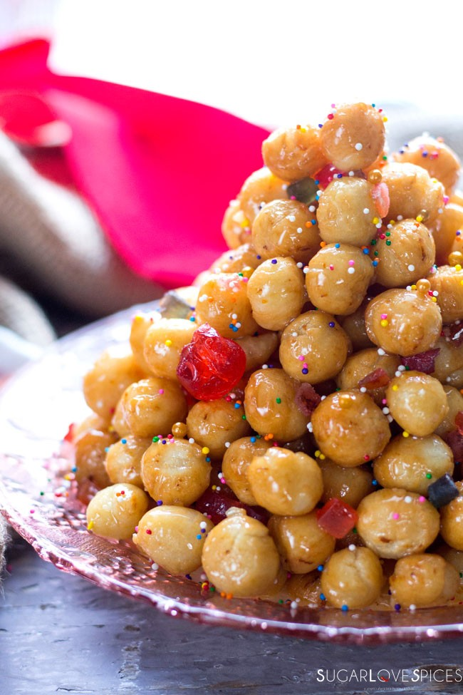 Struffoli, an Italian Christmas Classic holiday treat