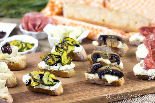 Crostini Misti (Mixed Crostini)