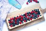 Anniversary Berry Tart with Vanilla bean Pastry Cream