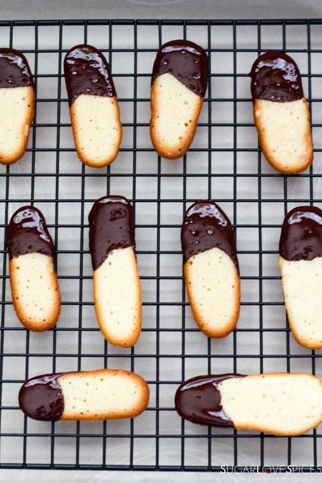 Lingue di Gatto, Italian butter cookies
