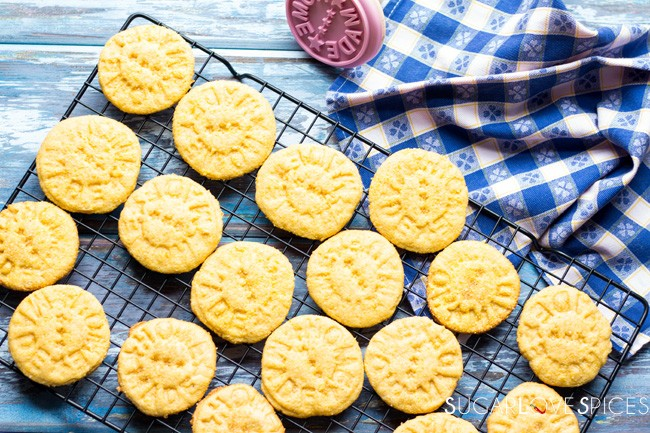 Cornmeal Cookies, Italian Style [G.F., Dairy Free]
