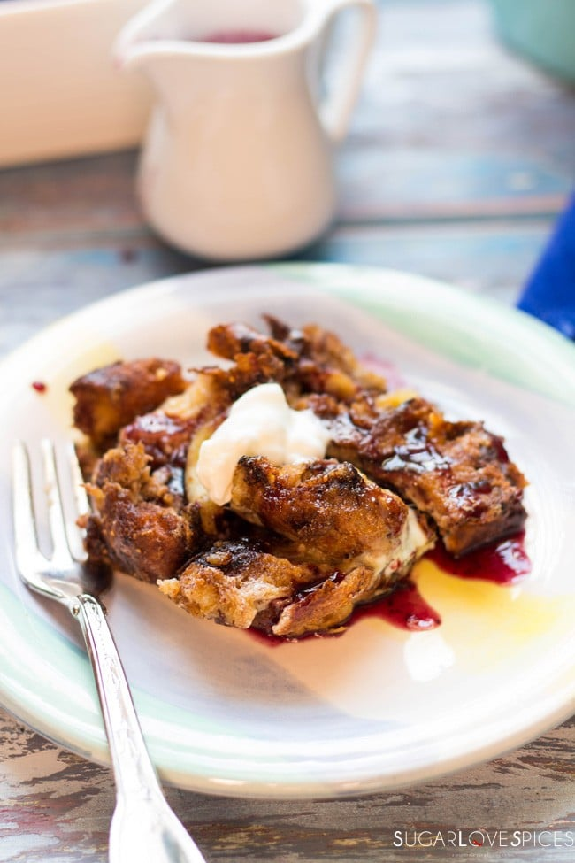 Easter Colomba Baked French Toast