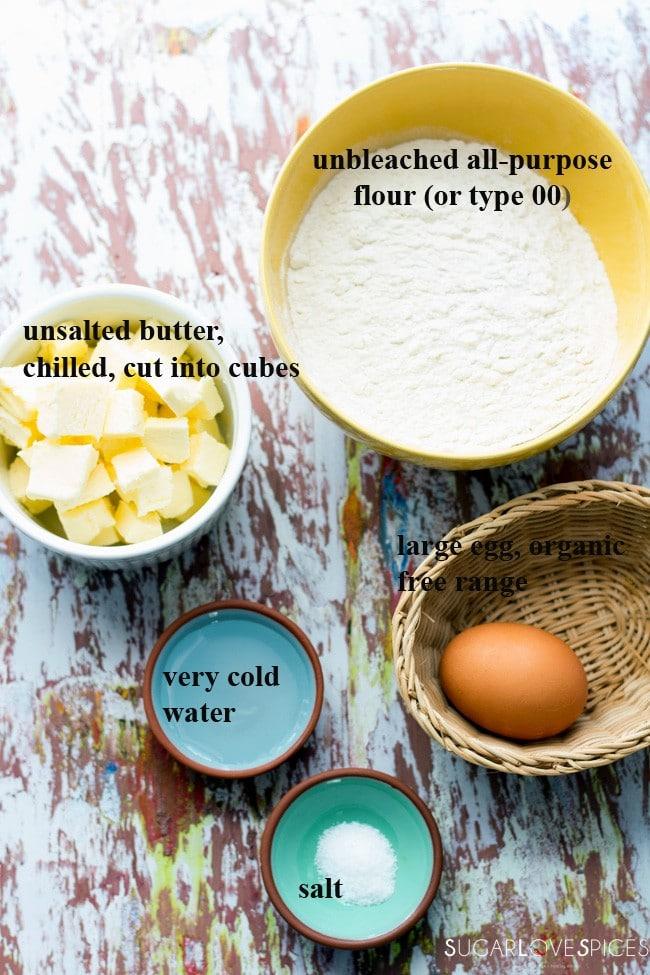 Basic savory tart pastr