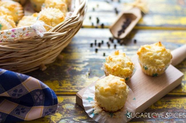 """""""Cacio e Pepe"""" Mini Muffins"""