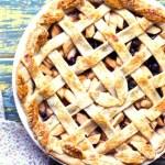 Apple Saskatoon Lattice Pie