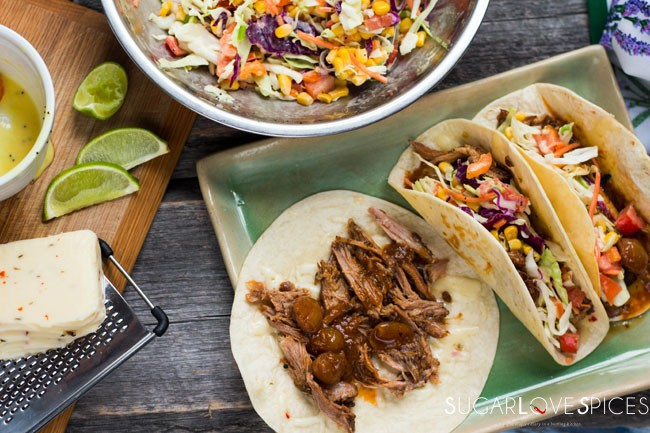 Slow cooker Whiskey Pulled Pork