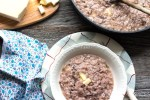 classic italian risotto with radicchio and taleggio
