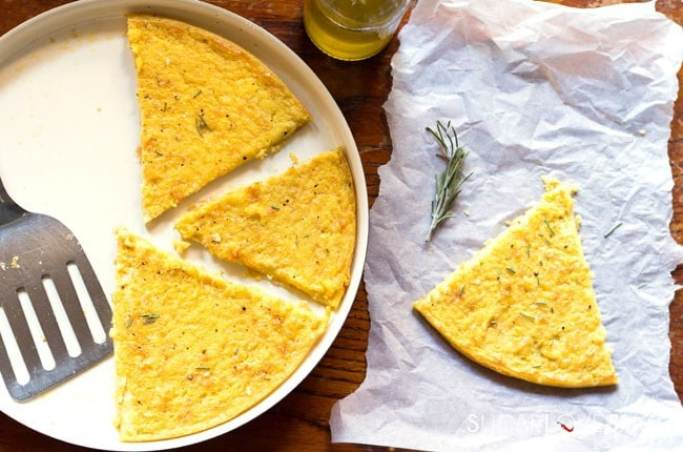 Cecina, Tuscan Chickpea Flour Flatbread