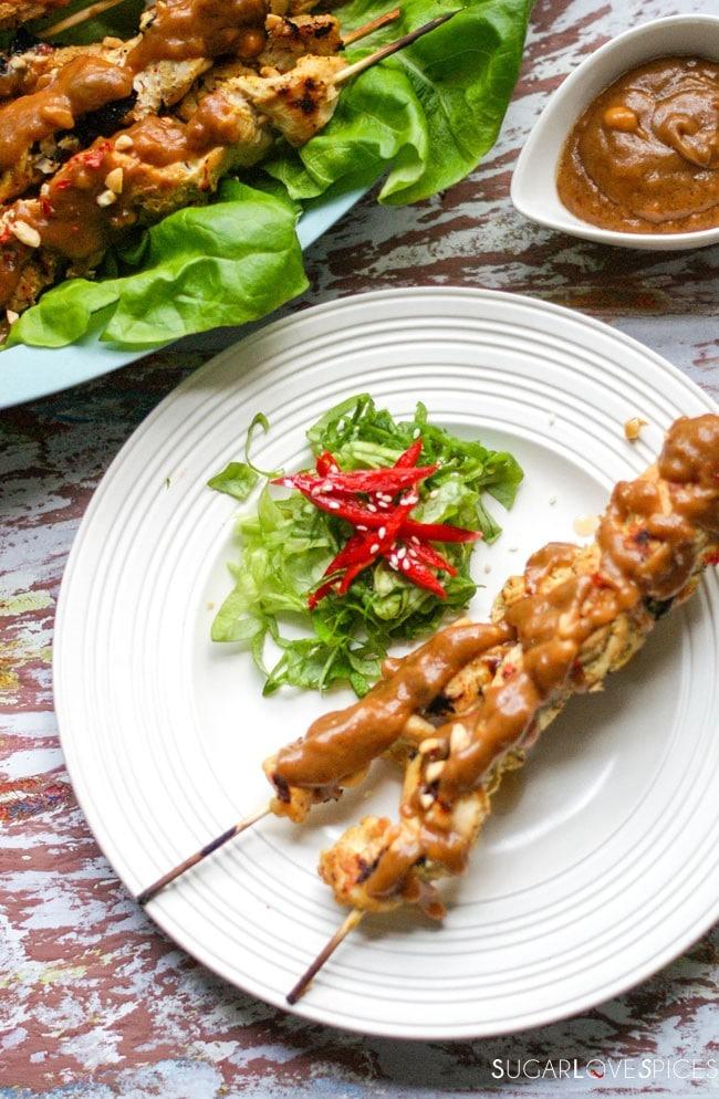Cookie Notti Crunchy Chicken Satay