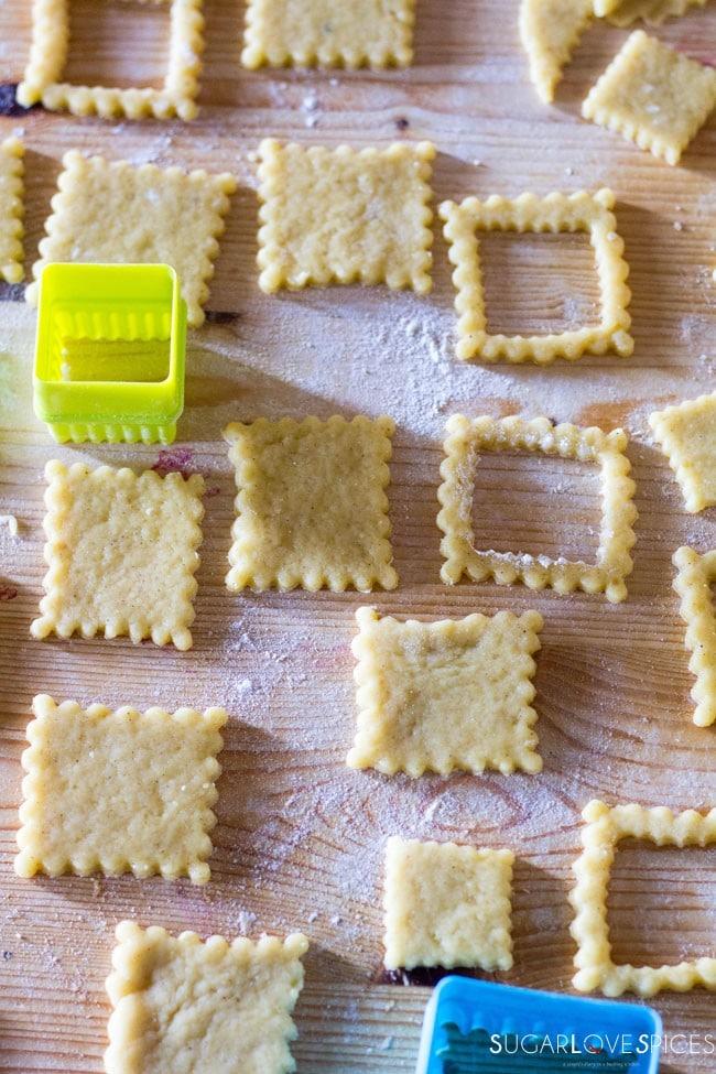 Spelt Flour Cookie Notti Sandwiches