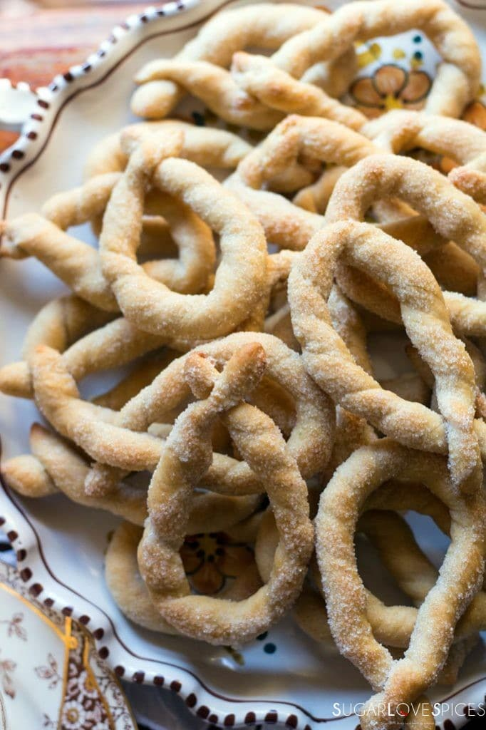 Torcetti Italian Twisted Butter Cookies