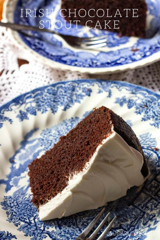 Irish Chocolate Stout Cake