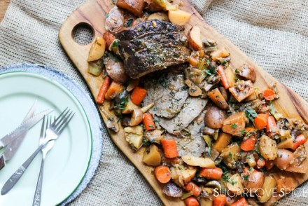 Slow Cooker Succulent Pot Roast