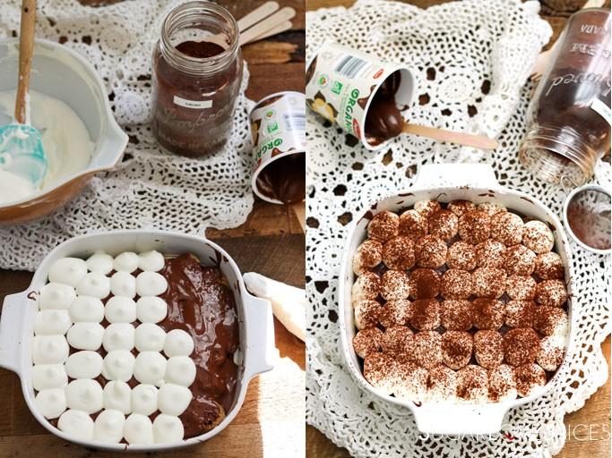 Chocolate and Mascarpone Cream Tiramisu