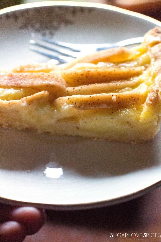 Crostata Mele e Crema