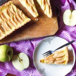 Crostata Mele e Crema-Apple and Pastry Cream Crostata