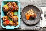 Pork Stuffed Spring Peppers