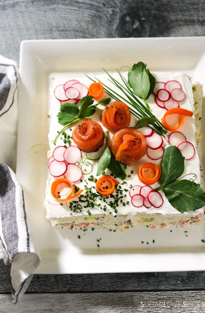 Smorgastarta, Swedish Sandwich Cake