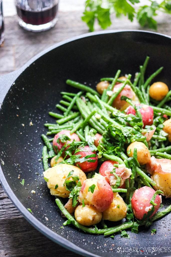 Mom's Green Bean & New Potato Salad