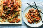 Halloumi and Vegetable Stir Fry