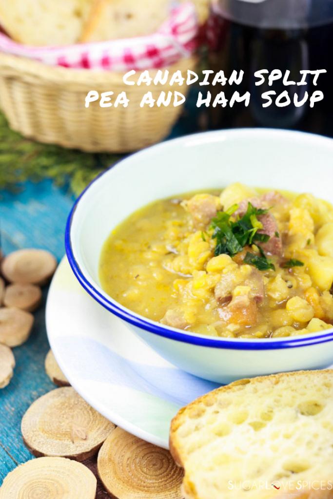 Canadian Split Pea and Ham Soup