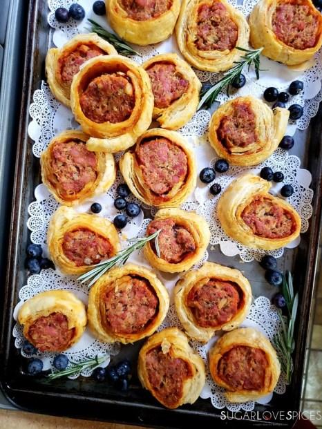 Party Pleaser Italian Sausage Rolls