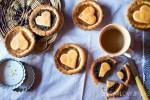 Crostatine morbide farina di farro e marmellata
