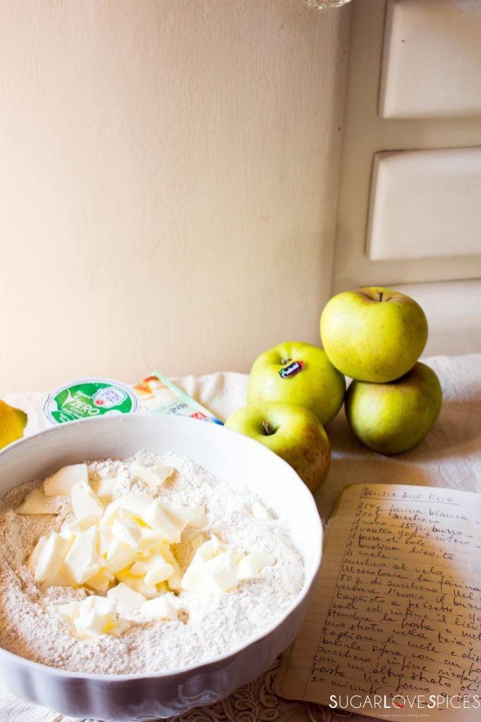 Delizia alle Mele (Italian Apple Pie)