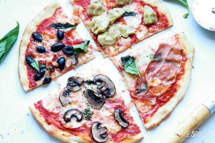 Fiori 4 Stagioni.Pizza Quattro Stagioni Sugarlovespices