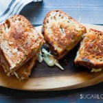 Glamorous Gourmet Grilled Cheese