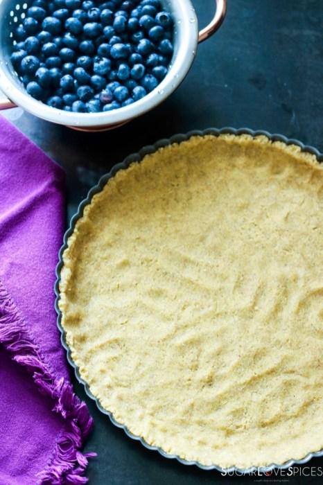 Mustikkapiirakka (Finnish Blueberry Pie)-uncooked crust