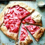 Strawberry Frangipane Galette-feature