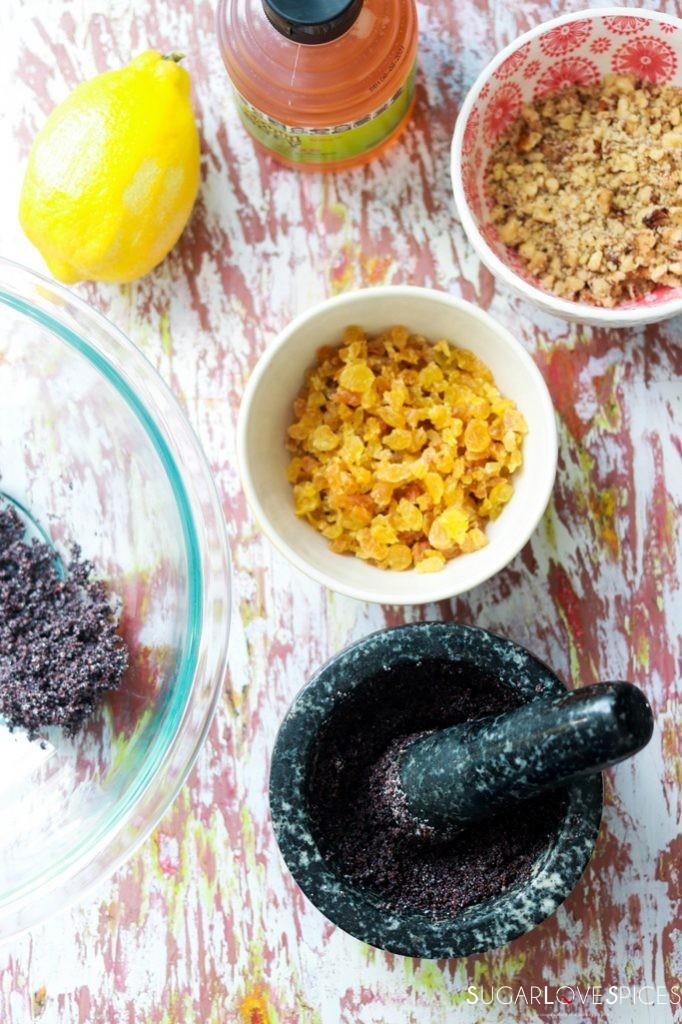 Ukranian Poppy Seed Roll-ingredients filling