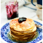 flFluffy Lemon Ricotta Pancakes