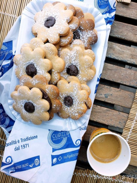 Ciambelline cookies in Sardegna