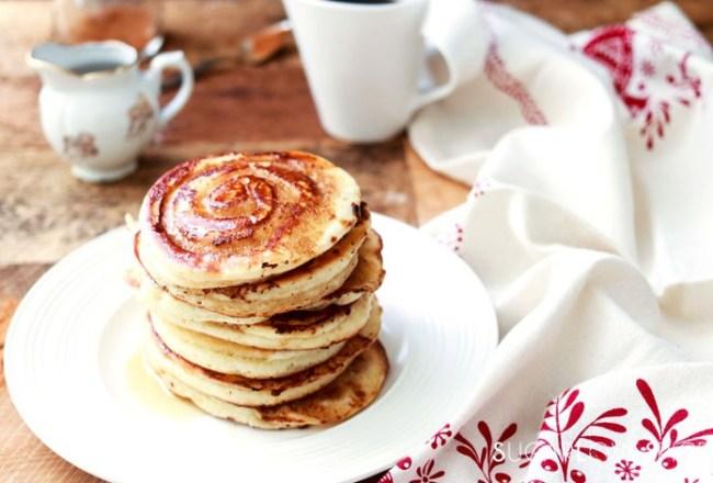 Cinnamon Swirl Pancakes-feature
