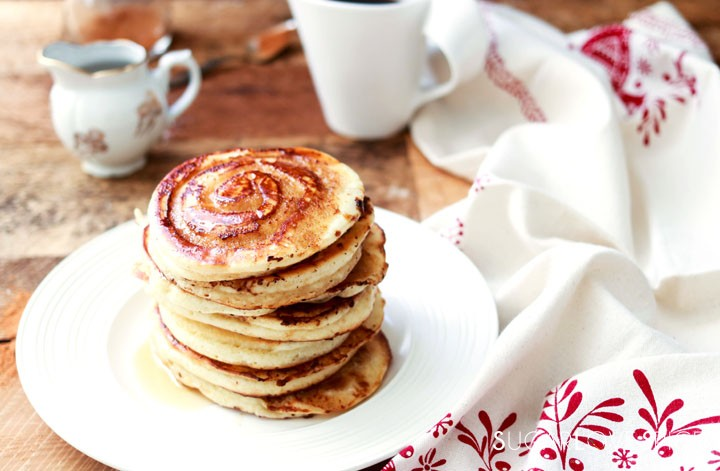 Cinnamon Swirl Pancakes-feature