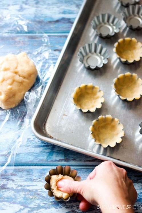 Sandbakkelse, Norwegian Christmas Cookies-preparation