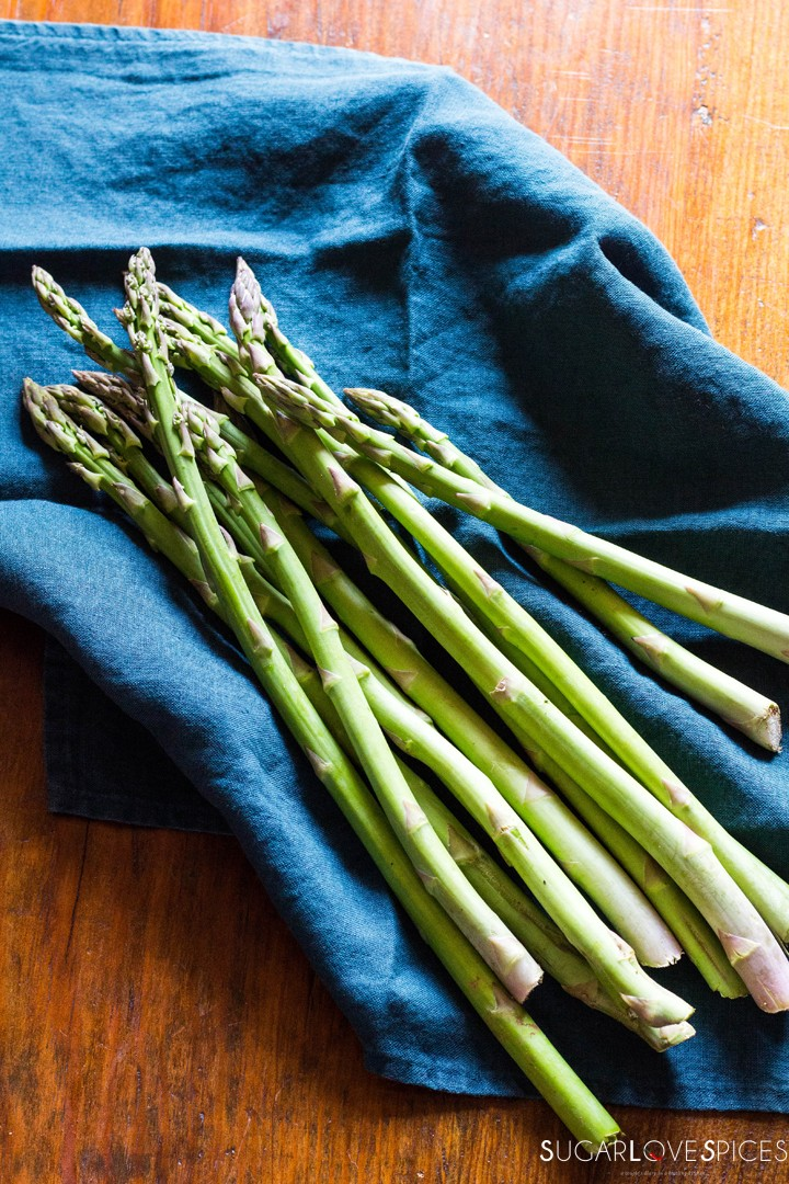 Simple Stove top Lemon Asparagus-asparagus