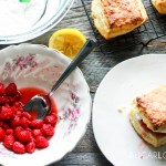 Raspberry Sour Cream Shortcakes-feature