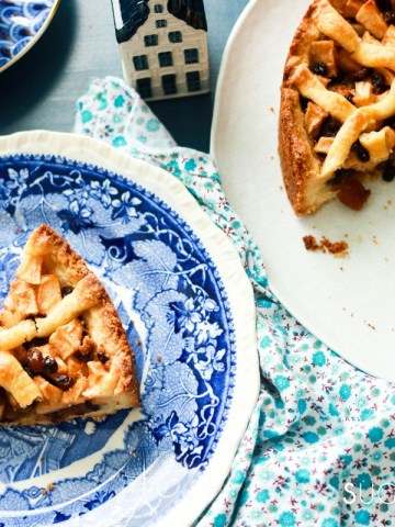 Dutch Apple Tart-feature-tart-and-slice