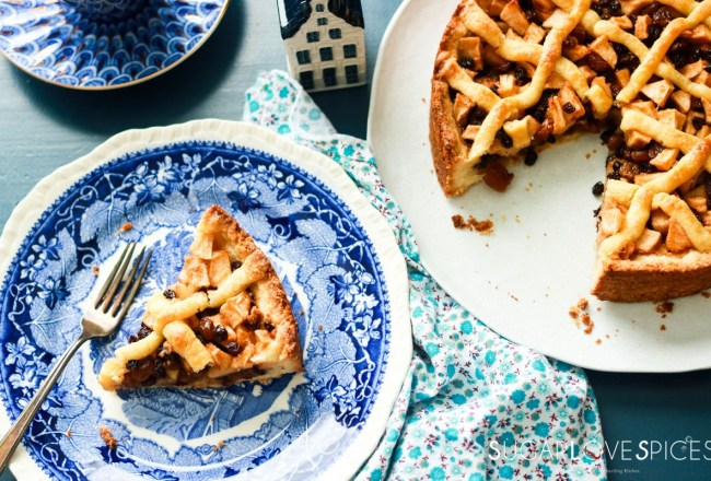 Dutch Apple Tart-feature-tart-and-slice
