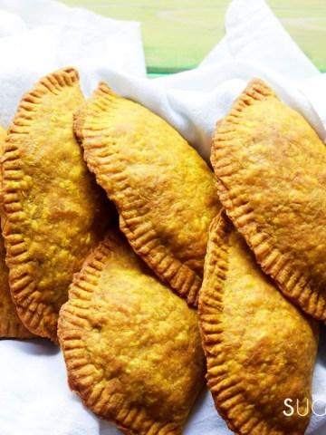 Jamaican Beef Patties-feature-patties in basket