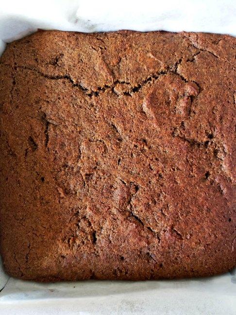 Buckwheat and Jam Cake-baked