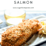 Sweet Chili Panko-crusted Salmon