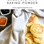 easy traditional scottish crumpets with baking powder-pinterest image