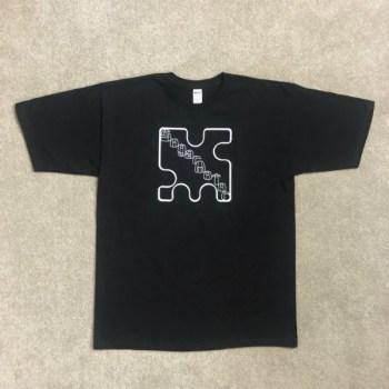 T-Shirt, Black w/White Sugarmotor Logo