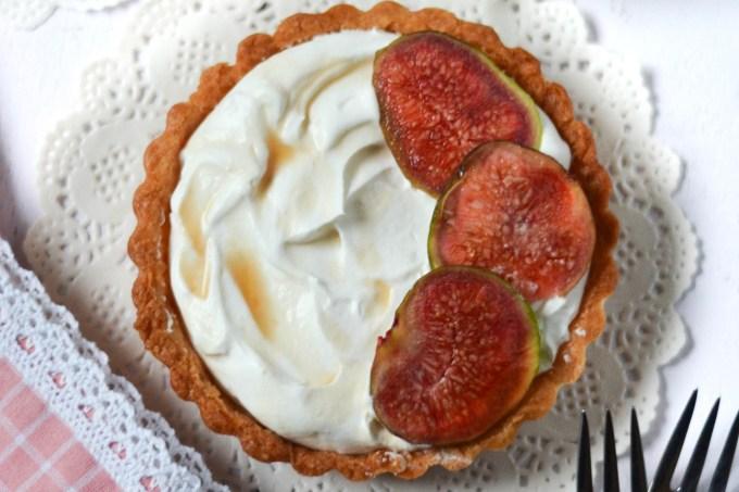 fig and mascarpone tart