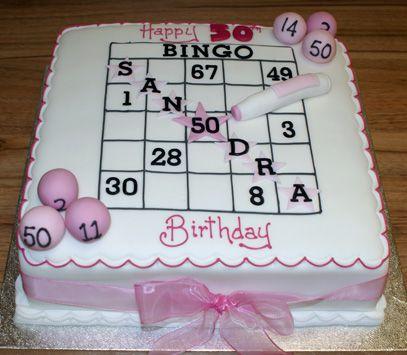 Bingo Cake Sugar N Spice Cakes